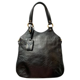 Yves Saint Laurent-Tribute small tote bag-Black