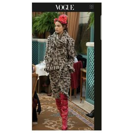 Chanel-Chanel 2017 Runway Tweed  Coat  Sz. 38-Multiple colors