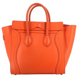 Céline-Céline Luggage-Orange