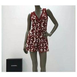 Chanel-Chanel Logo Shorts  Suit Sz.36-Multiple colors