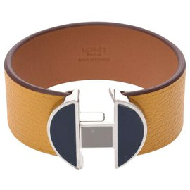 Hermès-Bracelet Hermès-Jaune