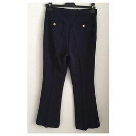 Gucci-Un pantalon, leggings-Bleu Marine