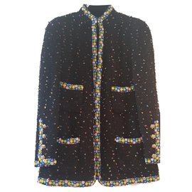 Chanel-Paris Shanghai arts and crafts jacket-Other