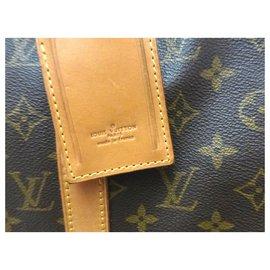 Louis Vuitton-KEEPALL 50 MONOGRAM-Marron