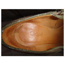 Chloé-low-boots Chloé p 38-Taupe