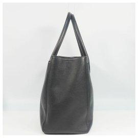 Chanel-CHANEL Executive tote Womens tote bag black x silver hardware-Black,Silver hardware