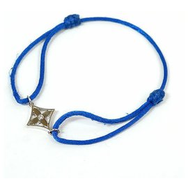 Louis Vuitton-bracelet étoile K18Bracelet cordon en coton WG-Autre