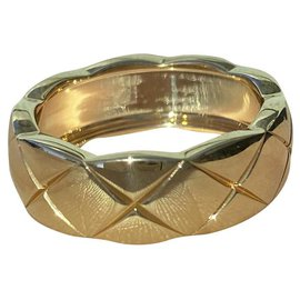 Chanel-Chanel gold ring Coco Crush-Golden