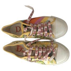 Dior-sneakers-Multicolore