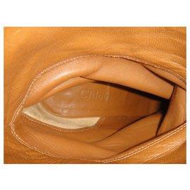 Chloé-Chloé p boots 37,5-Light brown