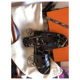 Hermès-Hermès Oran size 41-Black