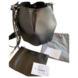 Alexander Mcqueen-Alexander McQueen bucket bag black-Black