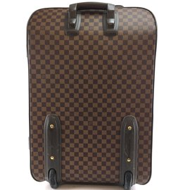 Louis Vuitton-Louis Vuitton Pegase 65 Damier Ebene Canvas-Brown