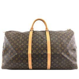Louis Vuitton-Louis Vuitton Keepall 60 Monogram canvas-Brown