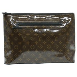 Louis Vuitton-Louis Vuitton clutch bag-Brown