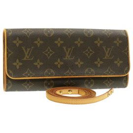 Louis Vuitton-Louis Vuitton Pochette twin-Brown