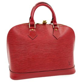 Louis Vuitton-Louis Vuitton Alma-Red
