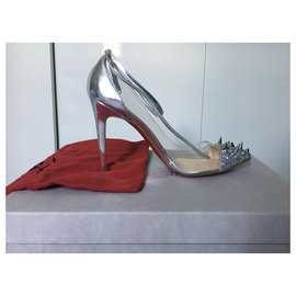 Christian Louboutin-Just picks 100-Silvery