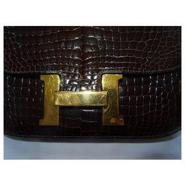 Hermès-Constance-Dark brown