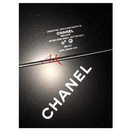 Chanel-CHANEL MAKEUP COSMETIC DISPLAY MIRROR-Black
