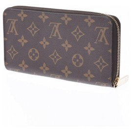Louis Vuitton-Louis Vuitton Zippy Wallet-Brown