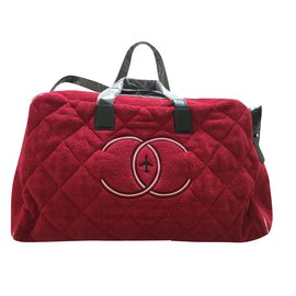 Chanel-Travel bag-Red