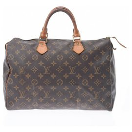 Louis Vuitton-Louis Vuitton Speedy 35-Brown