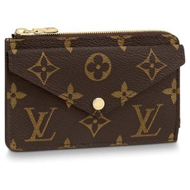 Louis Vuitton-Card Holder recto new-Brown