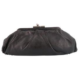 Chanel-Chanel clutch bag-Brown