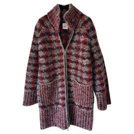 Chanel-new boucle coat-Multiple colors