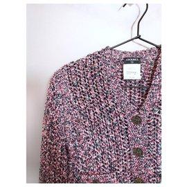 Chanel-tailleur jupe mignon-Rose