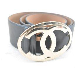 Chanel-CHANEL Belt-Black