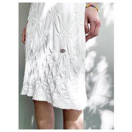 Chanel-pretty summer dress-White