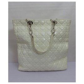 Christian Dior-Handbags-Cream
