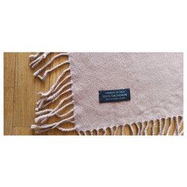 Hermès-Hermès Cashmere Throw-Light brown