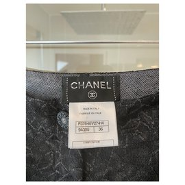 Chanel-Chanel pants-Black