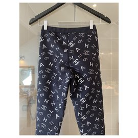 Chanel-Chanel leggings-Black