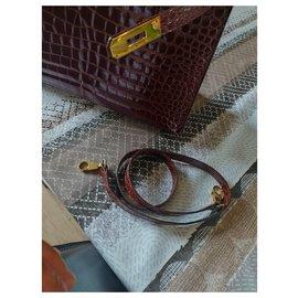 Hermès-Birkin 32-Marron foncé