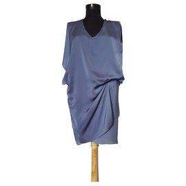 Acne-Dresses-Blue