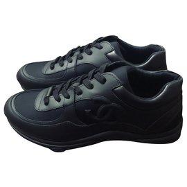 Chanel-Chanel, Chanel Men's Sneakers-Black