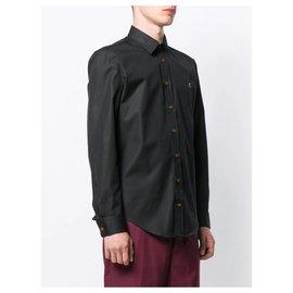 Vivienne Westwood-Classic Orb Shirt-Black