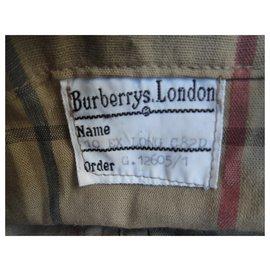 Burberry-Burberry woman raincoat vintage t 38-Khaki