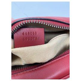 Gucci-Mini sac GG Marmont matelassé Nouveau-Rouge