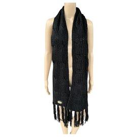 Ugg-Scarves-Black