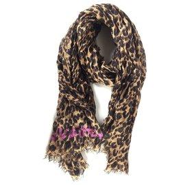 Louis Vuitton-Louis Vuitton, Must-have! Louis Vuitton Etole Leopard Marron byStephen Sprouse - limited Edition!-Braun,Leopardenprint,Fuschia