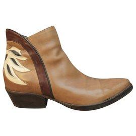 Sartore-Sartore p boots 37-Beige