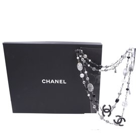 Chanel-Chanel Multicolor CC Beads Marbles Single lined Strand Necklace-Multiple colors