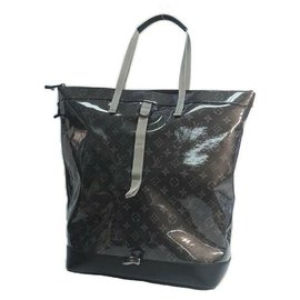Louis Vuitton-LOUIS VUITTON Zipped tote ruck sack Mens tote bag M43900-Other