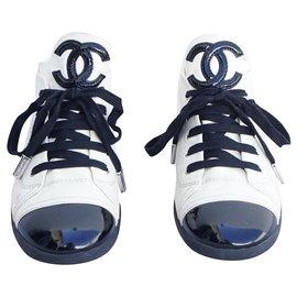 Chanel-Sneakers-Black,Beige