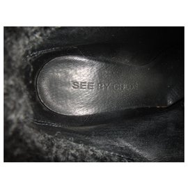 See by Chloé-See By Chloé p boots 38,5-Black